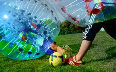 Bubble Soccer, o como practicar deporte dentro de una burbuja