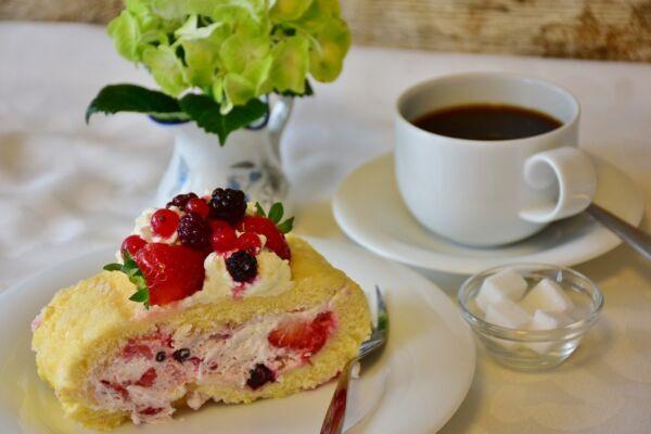 Cafe con Fresas