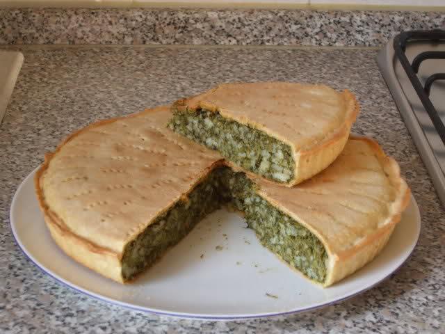 Pizza de Moringa en Polvo (Focaccia Verde)